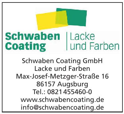 Schwaben Coating GmbH, Lacke und Farben
