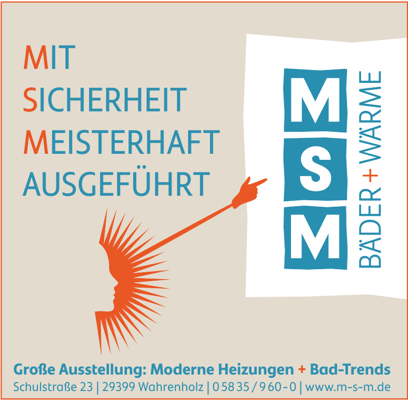 MSM Bäder + Wärme GmbH