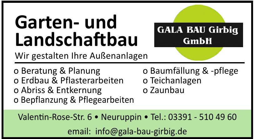 Gala Bau Girbig GmbH