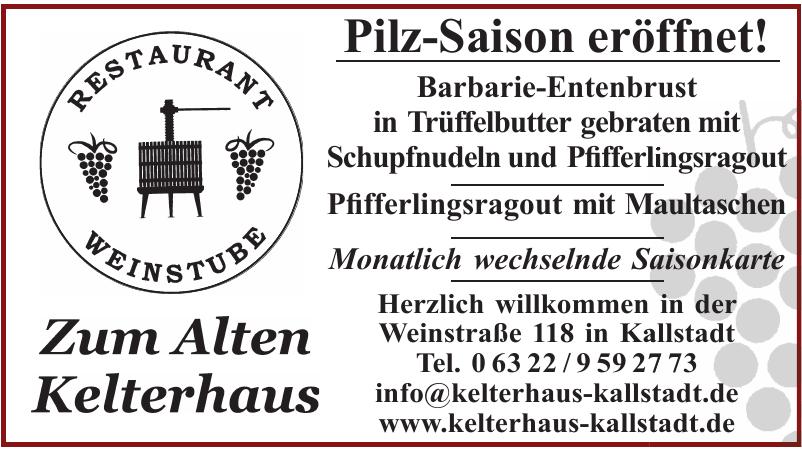Restaurant & Weinstube