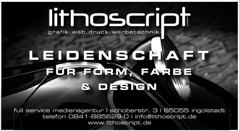 lithoscript Full Service Medienagentur