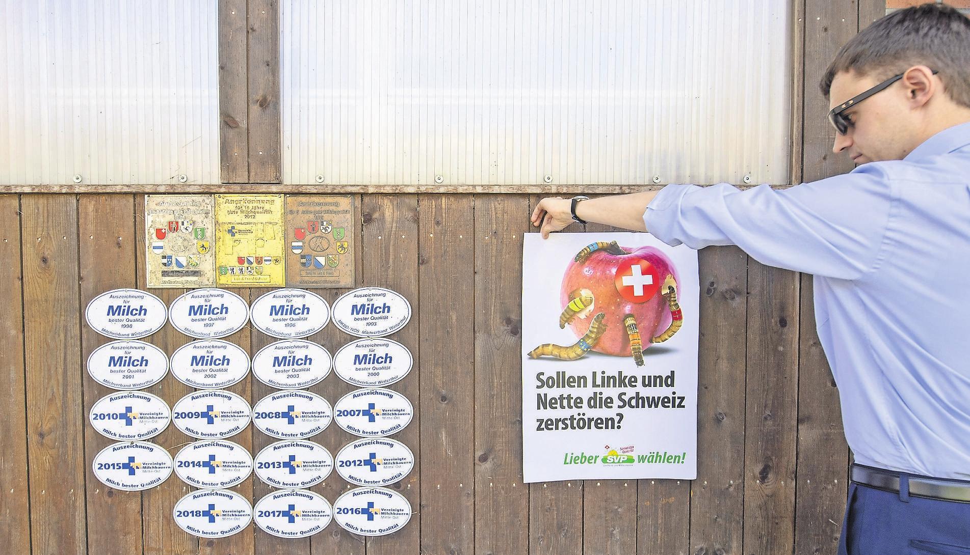 Weil der langjährige Fraktionschef Adrian Amstutz abtritt, fehlt der Berner SVP ein wichtiges Zugpferd für ihre Kampagne. Bild: Urs Flueeler/Keystone (Sattel, 31. August 2019)