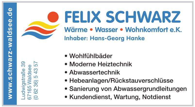 Felix Schwarz Wärme, Wasser, Wohnkomfort