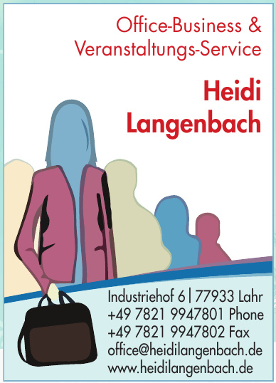 Office-Business & Veranstaltungs-Service Heidi Langenbach