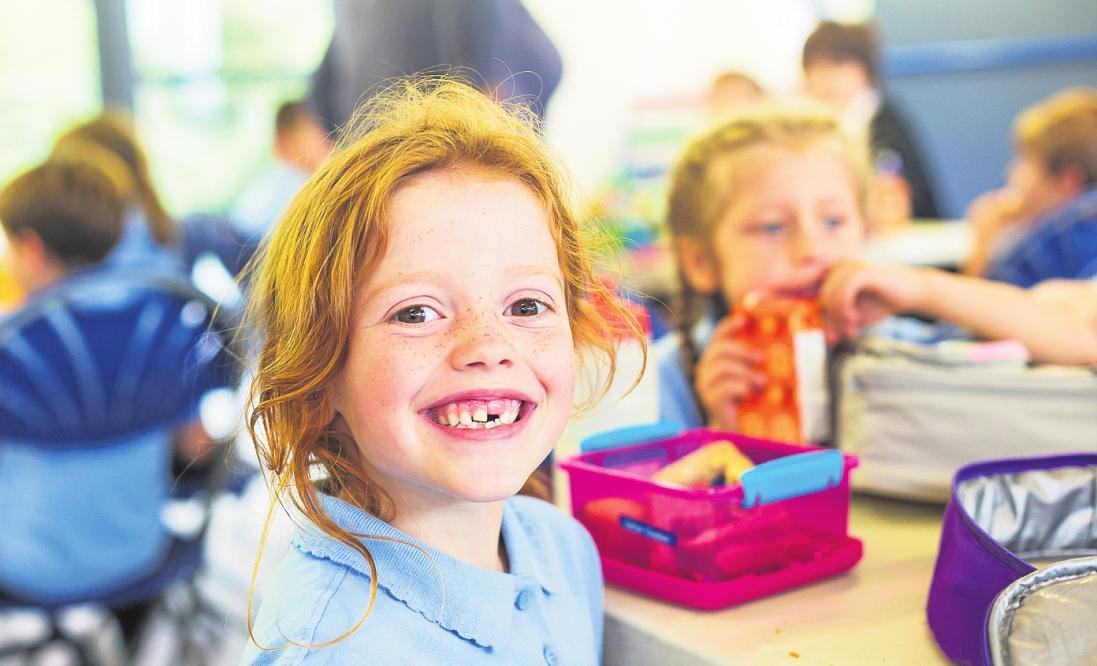 Wenn ihre Wünsche berücksichtigt werden, freuen sich Kinder aufs Pausenbrot FOTO: DAVIDF / GETTY IMAGES