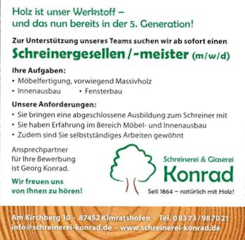 Schreinerei Konrad