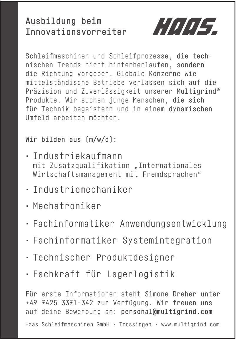 HAAS Schleifmaschinen GmbH