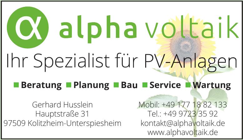 alpha voltaik