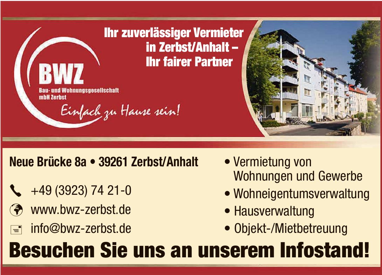 BWZ - Bau- und Wohnungsgesellschaft mbH Zerbst