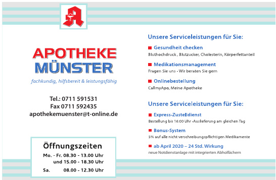 Apotheke Münster