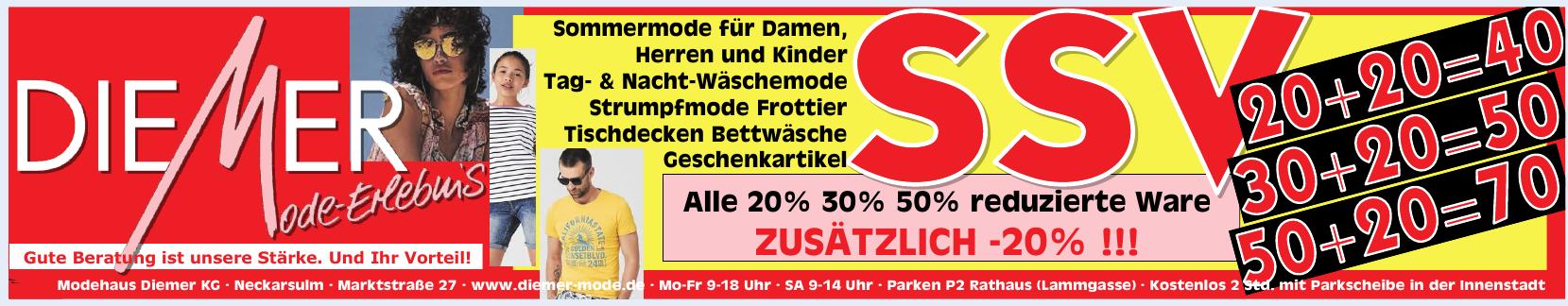 Modehaus Diemer KG