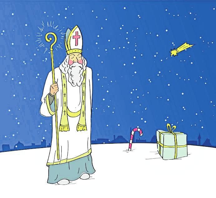 So hat der Nikolaus vor langer Zeit mal ausgesehen – könnt ihr euch das vorstellen? BILD: VENCAA - STOCK.ADOBE.COM