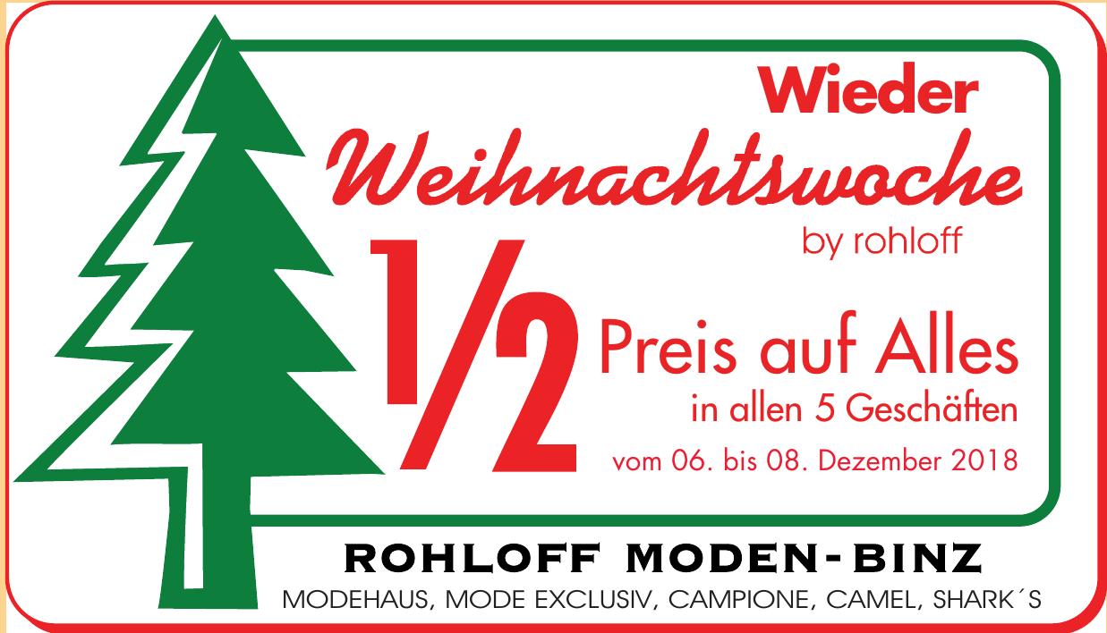 Rohloff Moden-Binz