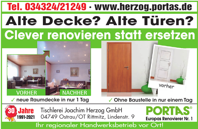 Tischlerei Joachim Herzog GmbH