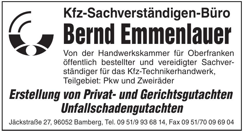 Kfz-Sachverständigen-Büro Bernd Emmenlauer