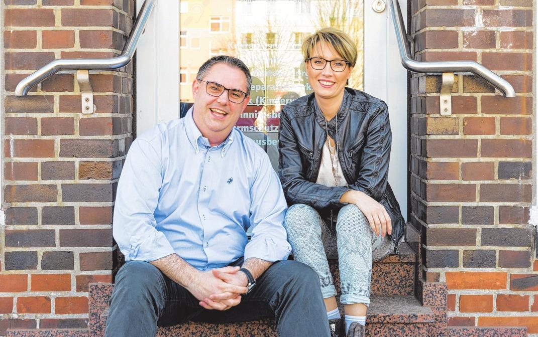 Dass Sie gut hören, liegt den Hör-Experten Ramona und Tobias Wockenfuß am Herzen. FOTO: WOCKENFUSS HÖRAKUSTIK