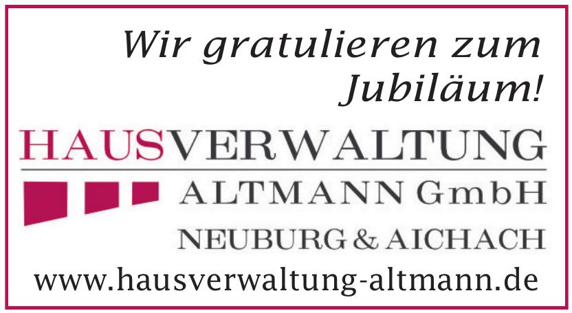 Hausverwalltung Altmann GmbH