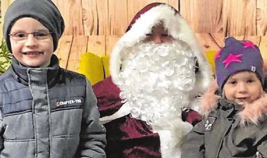 Der Volkholzer sind sich sicher: der Weihnachtsmarkt wird auch in diesem Jahr vorbei schauen!