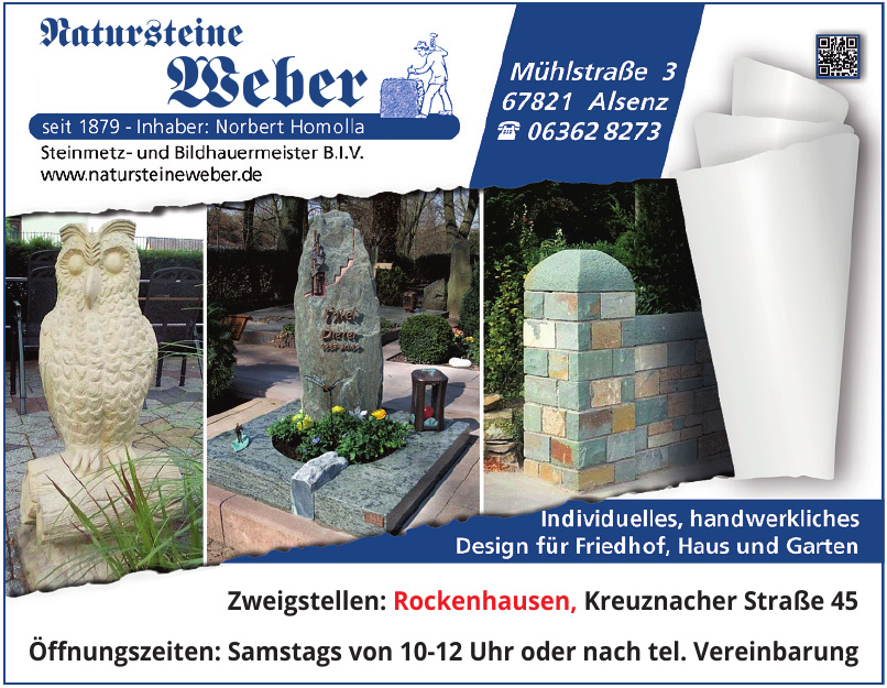Natursteine Weber Norbert Homolla