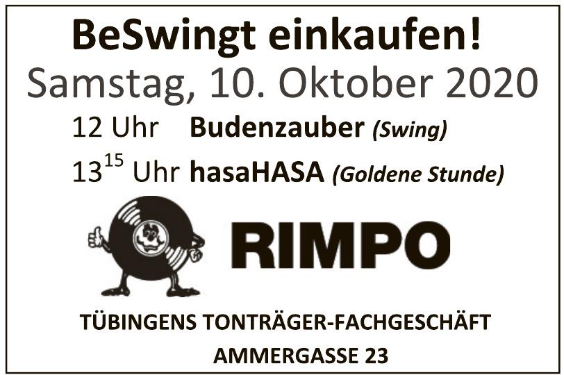 Rimpo Tübingens Tonträger-Fachgeschäft