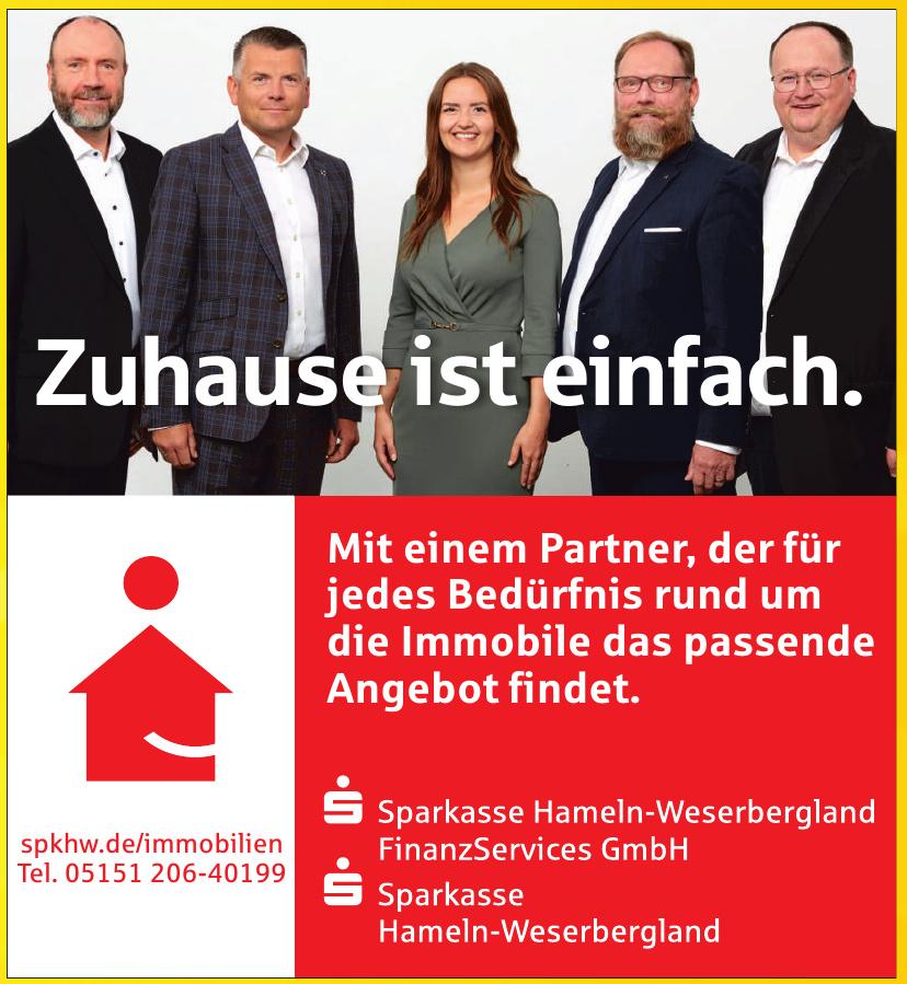 Sparkasse Hameln-Weserbergland FinanzServices GmbH