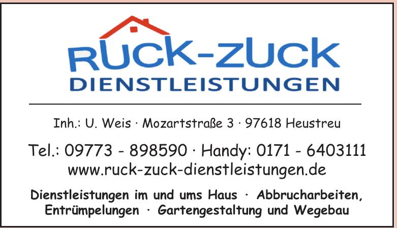 Ruck-Zuck Dienstleistungen