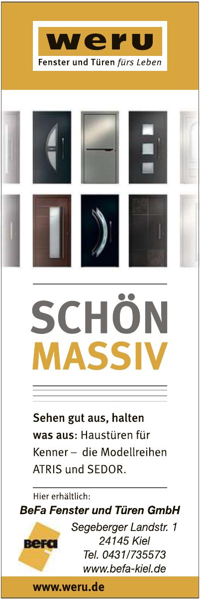 BeFa Fenster und Türen GmbH