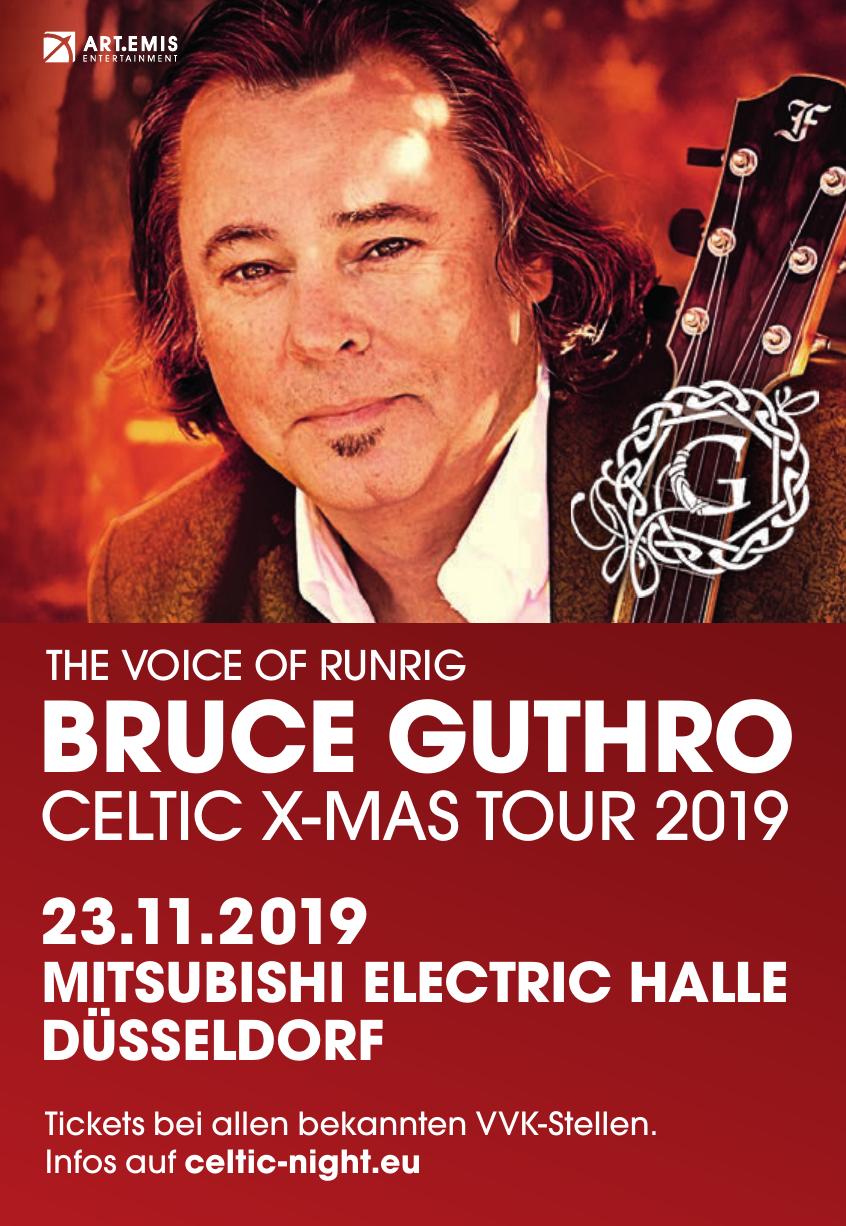 Bruce Guthro - Celtic X-mas Tour 2019