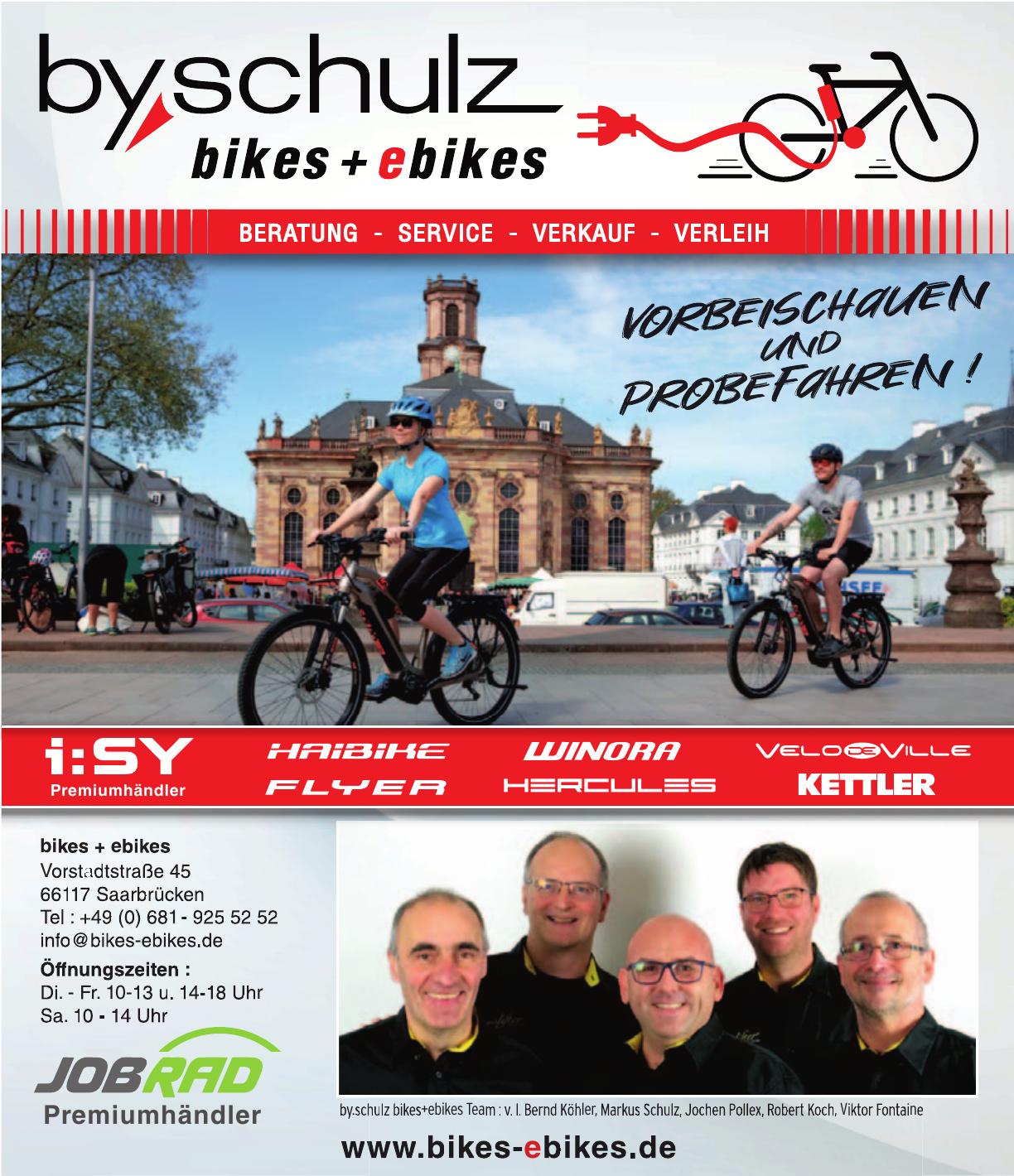 Bikes + Ebikes