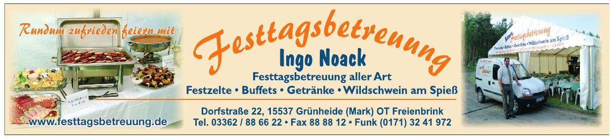 Festtagsbetreuung Ingo Noack