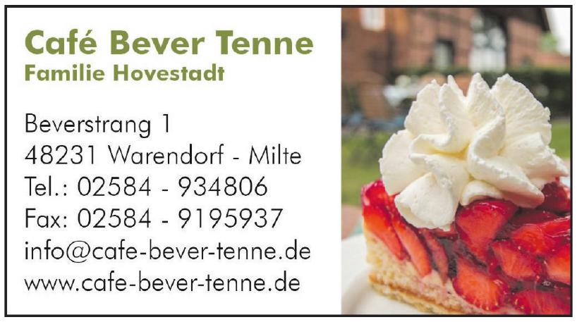 Café Bever Tenne