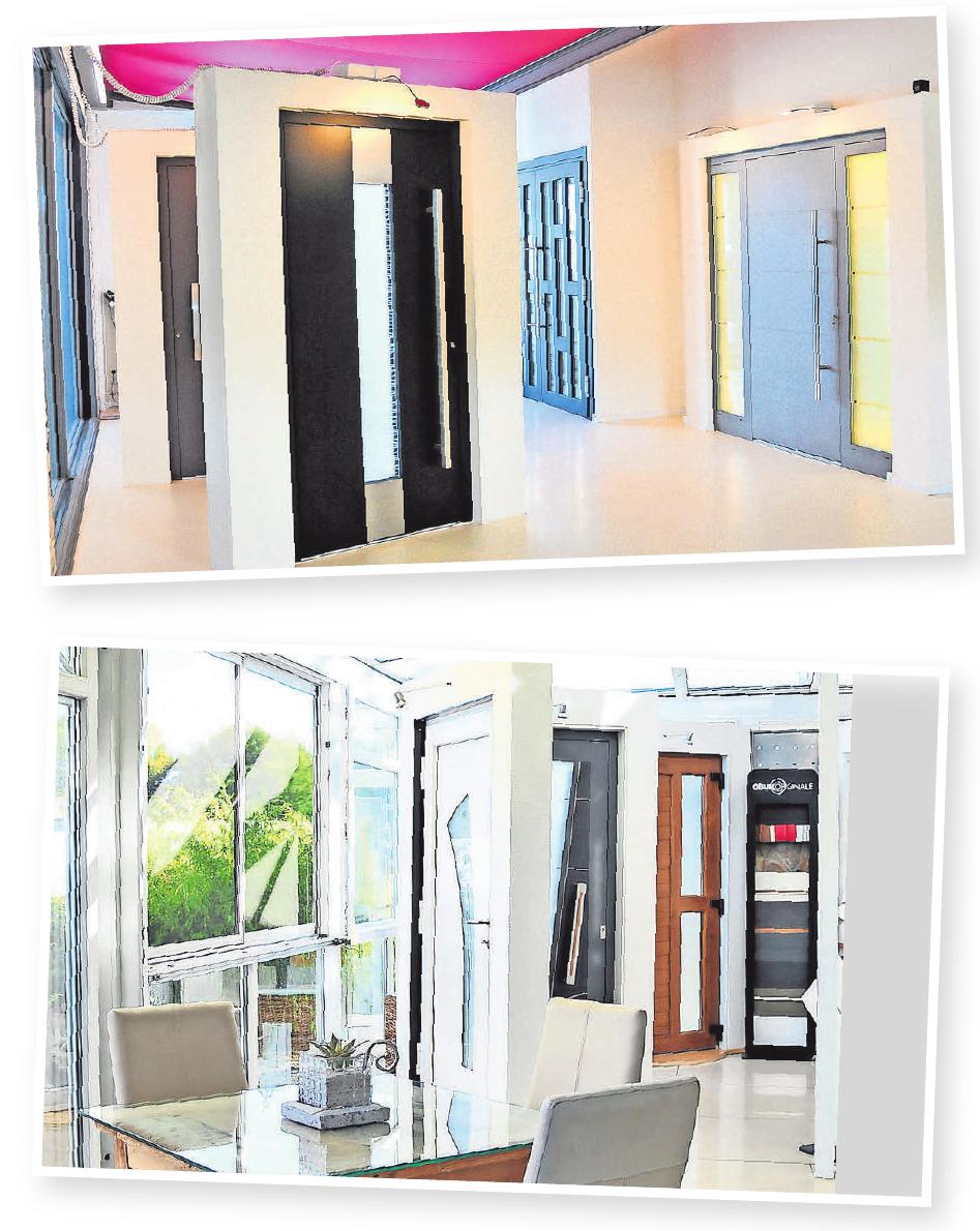 In der Ausstellung an der Hamburger Straße 2 im Rethener Gewerbegebiet bietet Robering neben einer große Auswahl an hochwertigen Eingangstüren auch Glasdachsystemen, Beschattungen, Rollladen und Fenstern sowie freistehende Terrassen-Pavillons.