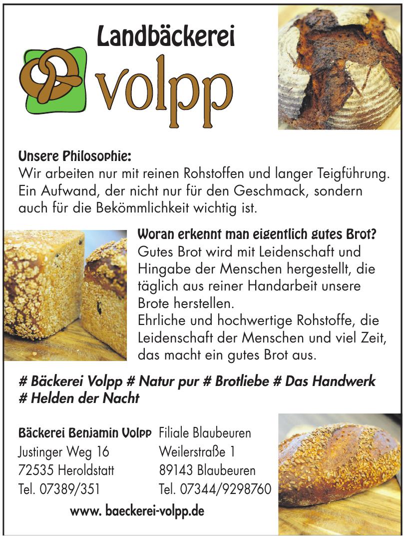 Bäckerei Benjamin Volpp