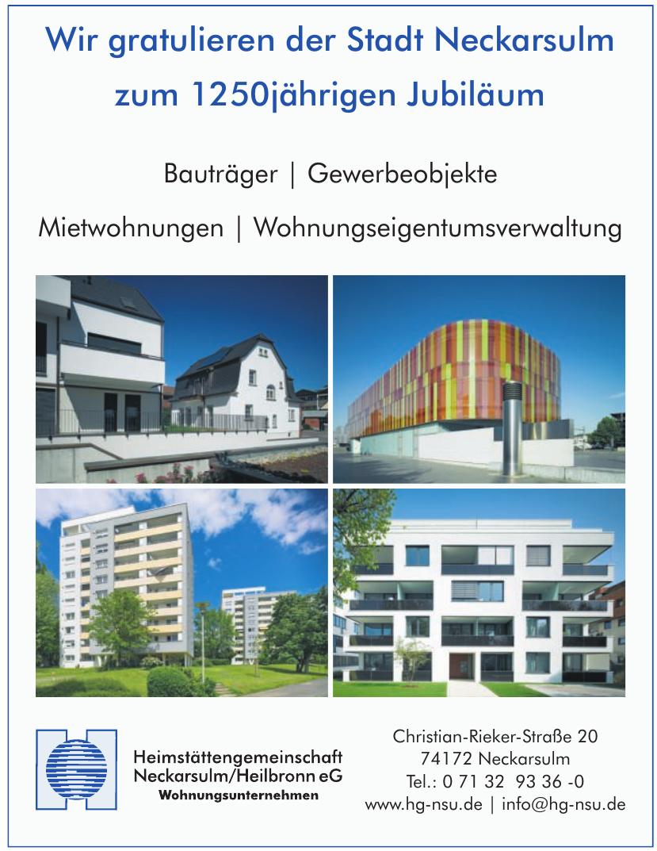 Heimstättengemeinschaft Neckarsulm/Heilbronn eG