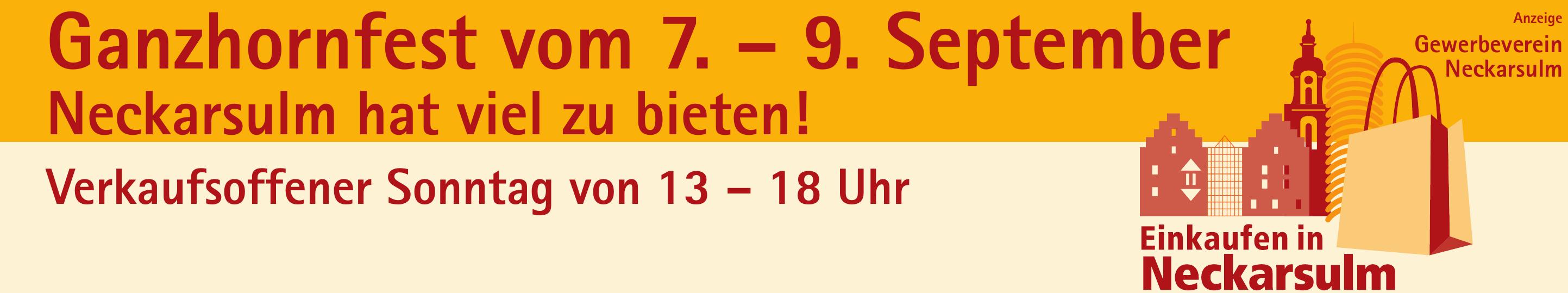 Ganzhornfest vom 7. – 9. September Image 1