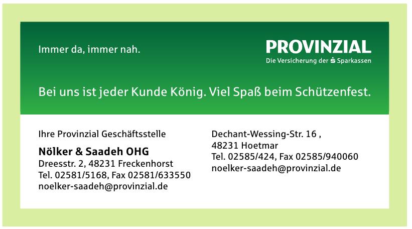 Provinzial Geschäftsstelle - Nölker & Saadeh OHG