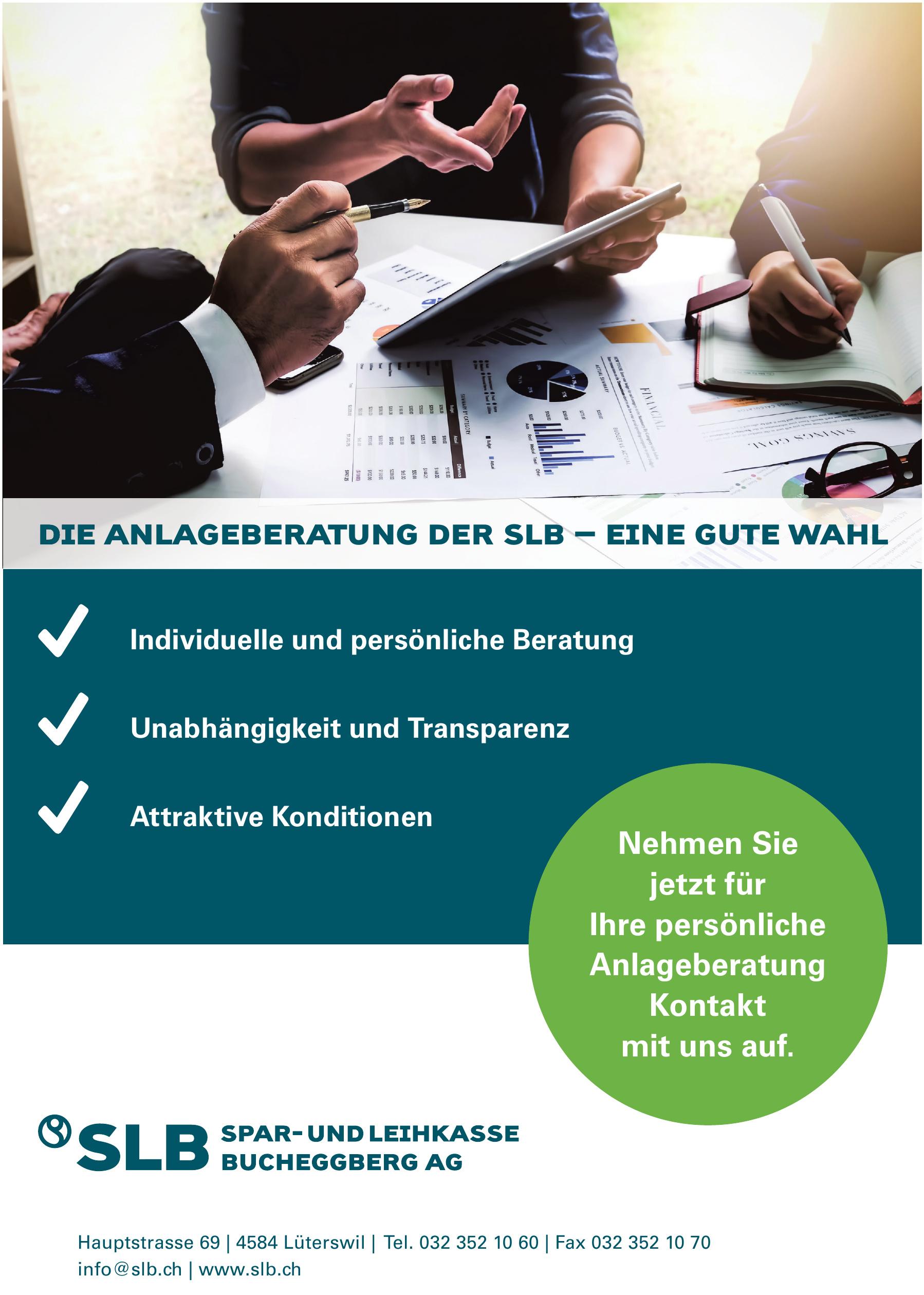 SLB Spar und Leihkasse Bucheggberg AG