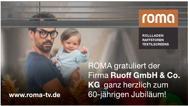 Roma Rolladen, Raffstoren, Textilscreens