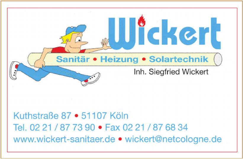 Wickert Sanitär - Heizung - Solartechnik