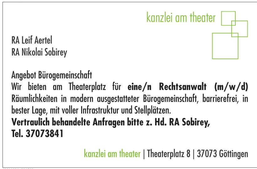 kanzlei am theater