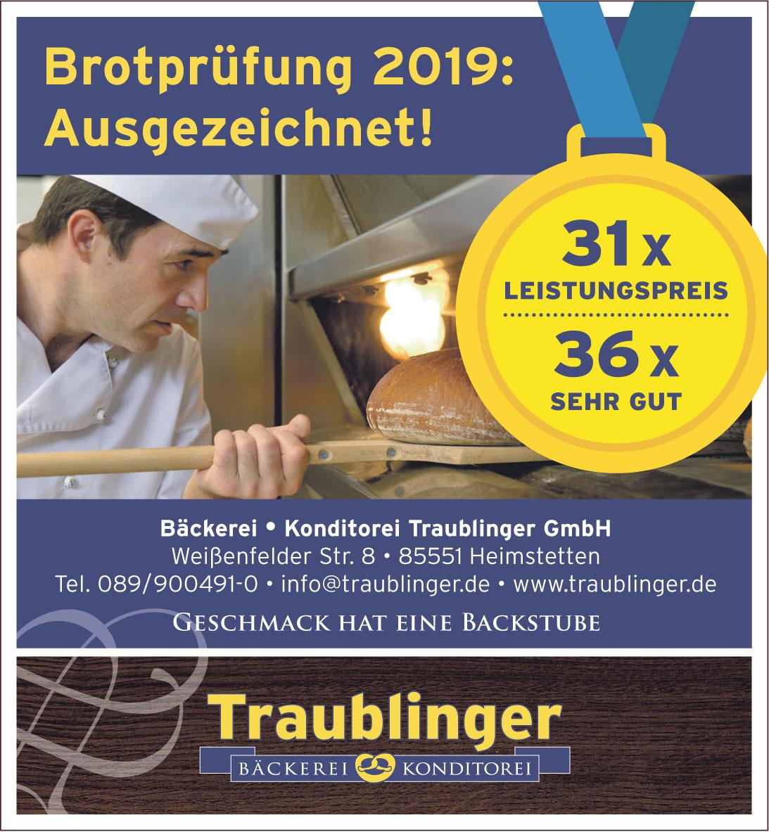 Bäckerei Konditorei Traublinger GmbH