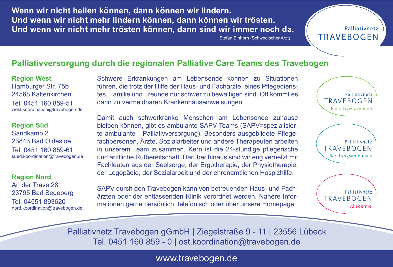 Palliativnetz Travebogen gGmbH