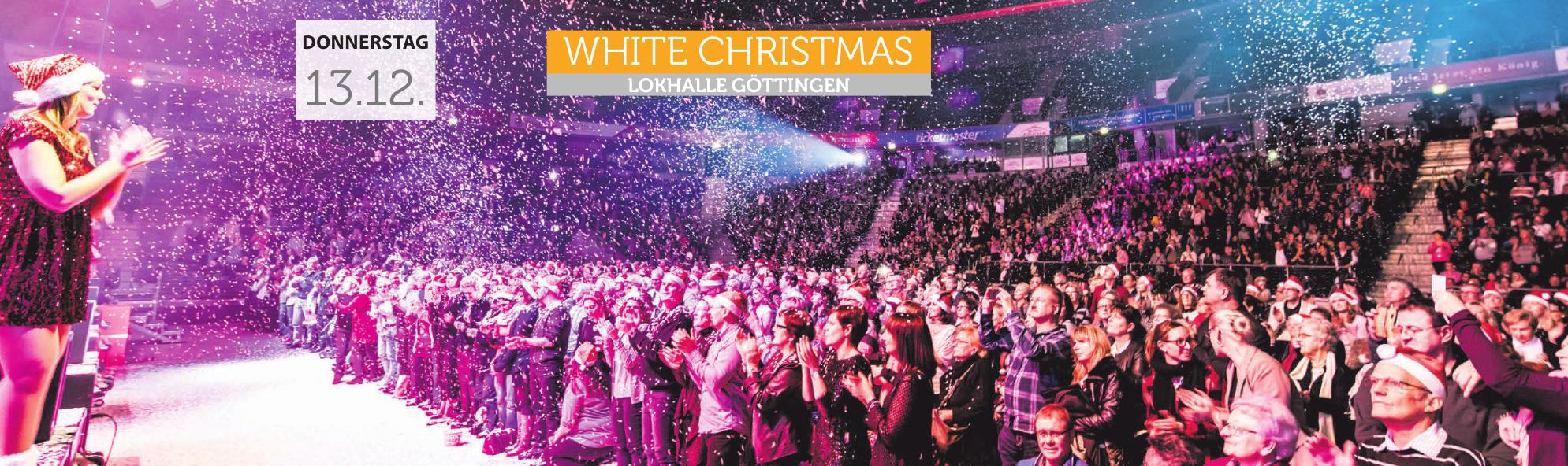 White Christmas - Lokhalle Göttingen, Donnerstag 13.12. FOTO: R
