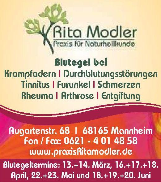 Rita Modler Praxis für Naturtheilkunde