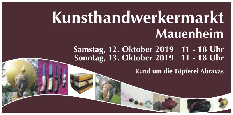Kunsthandwerkermarkt Mauenheim