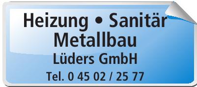 Sanitär Heizung Metallbau · Lüders GmbH