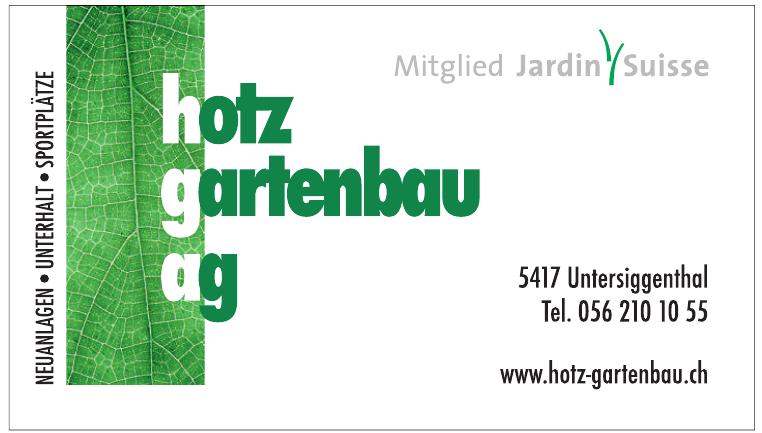 Hotz Gartenbau AG