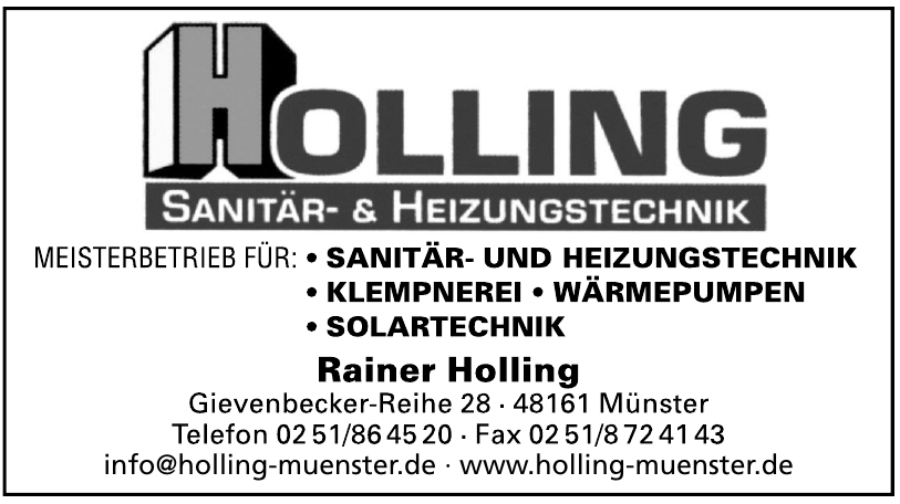 Holling Sanitär- & Heizungstechnik