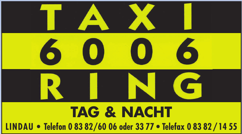 Taxi 6006 Ring