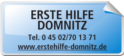Erste Hilfe Domnitz